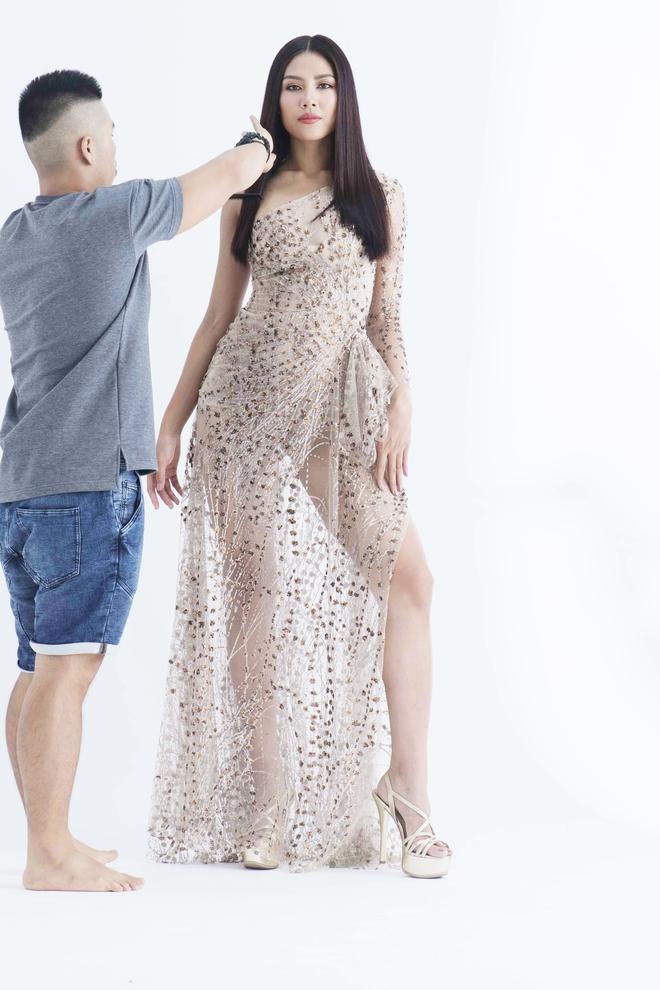 Rò rỉ hình ảnh thử đồ, Nguyễn Thị Loan có thể là đại diện Việt Nam thi Miss Universe 2017? - Ảnh 2.