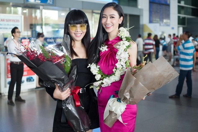 Hà Thu rạng rỡ trở về nước sau thành tích lọt vào Top 16 Miss Earth 2017 - Ảnh 5.