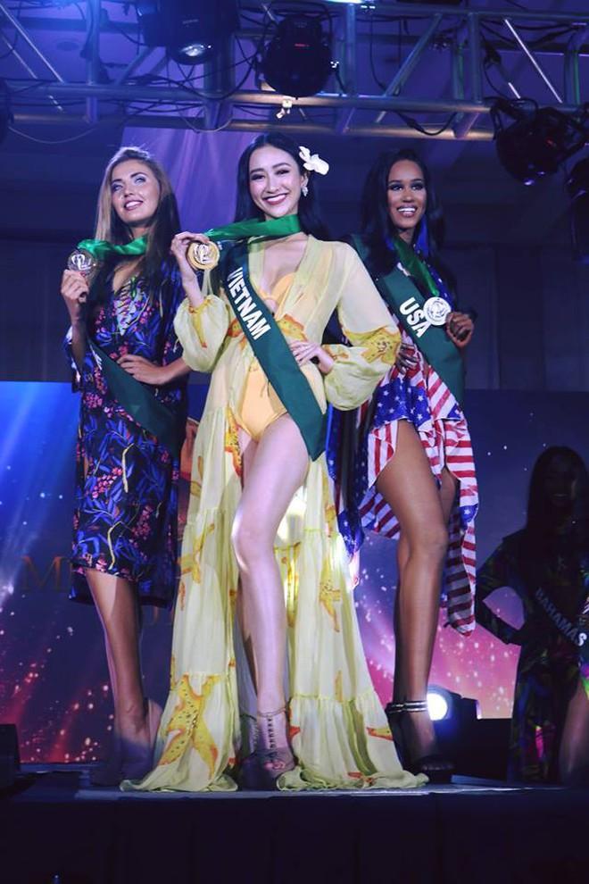 Phạm Hương, Nam Em và dàn mỹ nhân Vbiz kỳ vọng Hà Thu sẽ giành thứ hạng cao trong đêm chung kết Miss Earth 2017 - Ảnh 1.