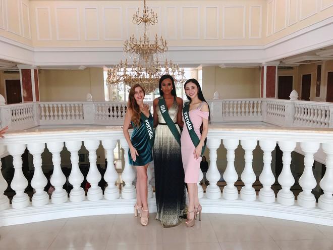 Hà Thu tiếp tục ghi điểm với giải đồng phần thi tài năng tại Hoa hậu Trái đất 2017 - Ảnh 6.