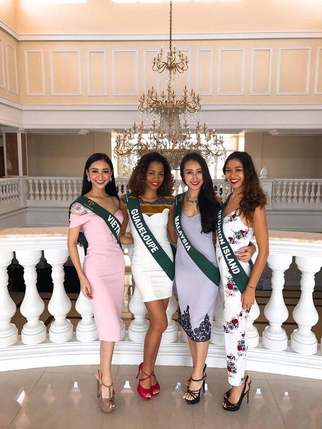 Hà Thu tiếp tục ghi điểm với giải đồng phần thi tài năng tại Hoa hậu Trái đất 2017 - Ảnh 7.