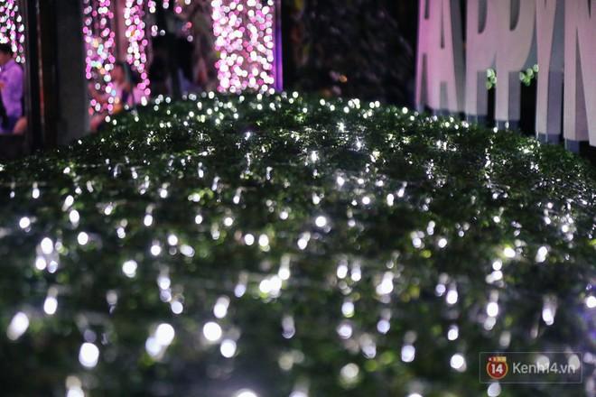 Hàng trăm bạn trẻ đổ xô về khu vườn ánh sáng lung linh độc nhất Sài Gòn giữa tiết trời se lạnh - Ảnh 9.