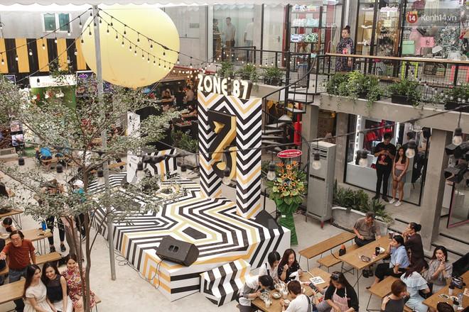 Có gì ở Zone 87 - khu tổ hợp ăn chơi, mua sắm mới của Midu dành cho giới trẻ Sài Gòn? - Ảnh 3.