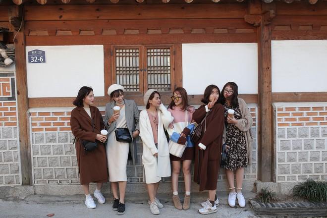 Ảnh đi Hàn tuyệt đẹp của An Toe: Du lịch nhóm, lên concept áo quần quan trọng như... mua vé máy bay! - Ảnh 9.
