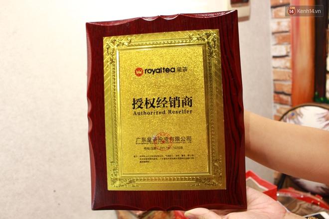 Chủ sở hữu của các chuỗi Royaltea tại Hà Nội, Sài Gòn: Thương hiệu Royaltea không được bảo hộ nên ai cũng có thể kinh doanh mà không vi phạm pháp luật - Ảnh 7.