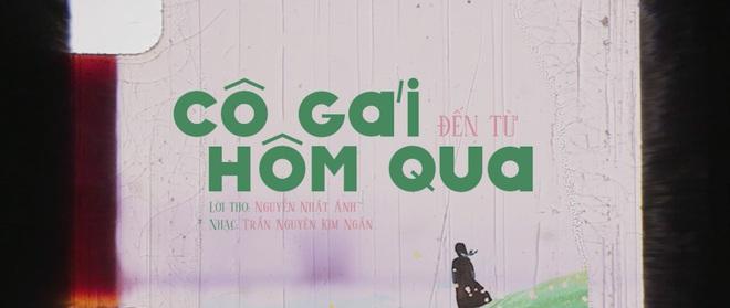 Hậu doanh thu 50 tỷ, Cô gái đến từ hôm qua ra mắt ca khúc đặc biệt từ lời thơ của nhà văn Nguyễn Nhật Ánh - Ảnh 1.
