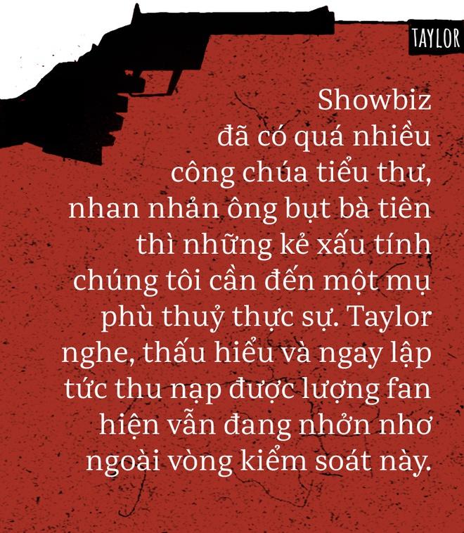 Taylor Swift: Ai yêu cũng được, ghét cũng chả sao, vì chẳng gì cản nổi chị làm nữ hoàng! - Ảnh 3.