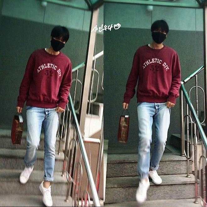 Bạn trai quốc dân Lee Min Ho: đi nhập ngũ mà vẫn mặc đẹp muốn xỉu - Ảnh 2.