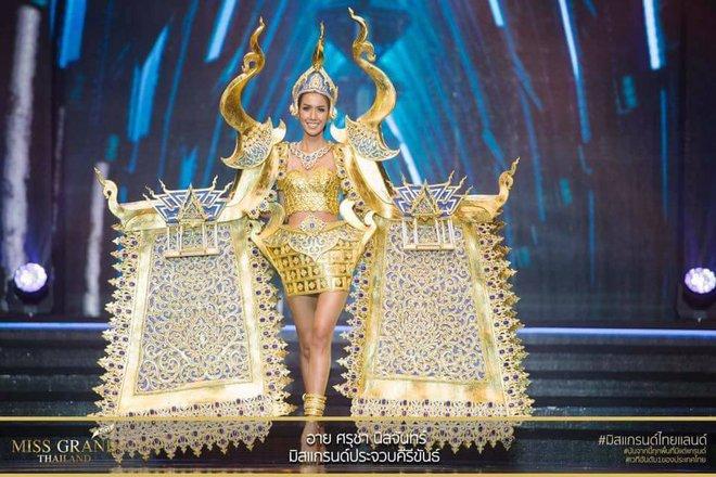 Miss Grand Thailand 2017: Thời trang dị nhưng đẹp, đầy đủ từ nhân mã cho đến tiên sầu riêng - Ảnh 8.