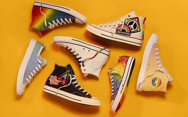 Miley Cyrus hợp tác với Converse ra mắt BST giày tôn vinh cộng đồng LGBT - Ảnh 6.
