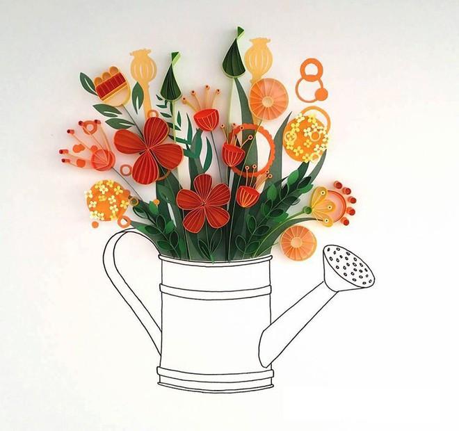 Bộ sưu tập tranh xoắn giấy 3D ảo diệu của nữ nghệ nhân người Anh - Ảnh 5.