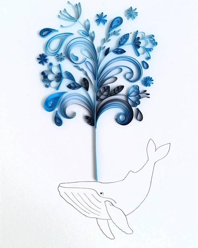 Bộ sưu tập tranh xoắn giấy 3D ảo diệu của nữ nghệ nhân người Anh - Ảnh 1.