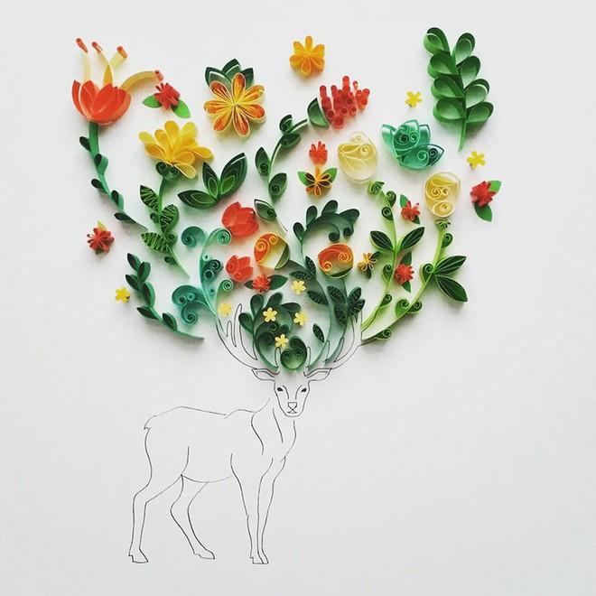 Bộ sưu tập tranh xoắn giấy 3D ảo diệu của nữ nghệ nhân người Anh - Ảnh 3.