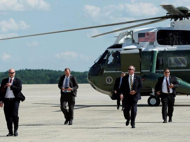 Cận cảnh Đội mật vụ bảo vệ Tổng thống Mỹ Donald Trump - Ảnh 11.