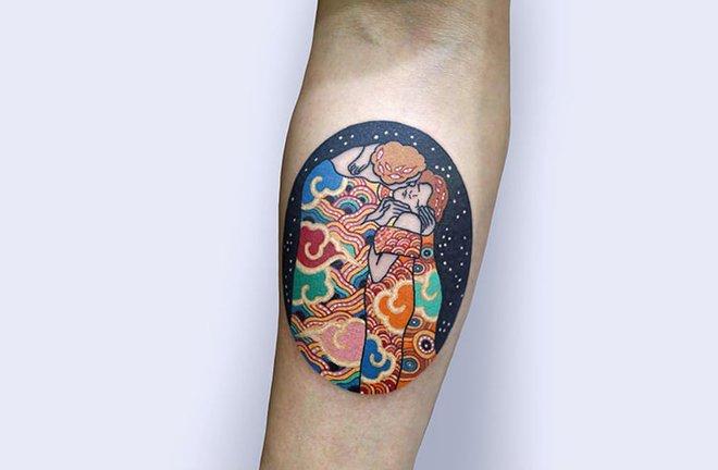 Bộ sưu tập hình xăm mang đậm màu sắc hoài cổ xứ kim chi - Ảnh 15.