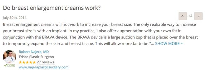 Kem nở ngực đang hot ầm ầm trên mạng có thật sự có tác dụng tăng size vòng 1? - Ảnh 6.