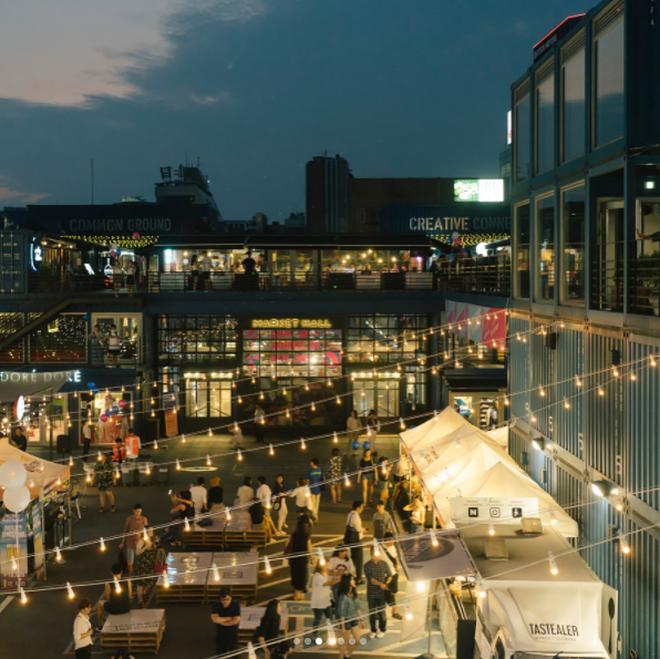 Địa điểm sống ảo cực chất tại Seoul - Common Ground