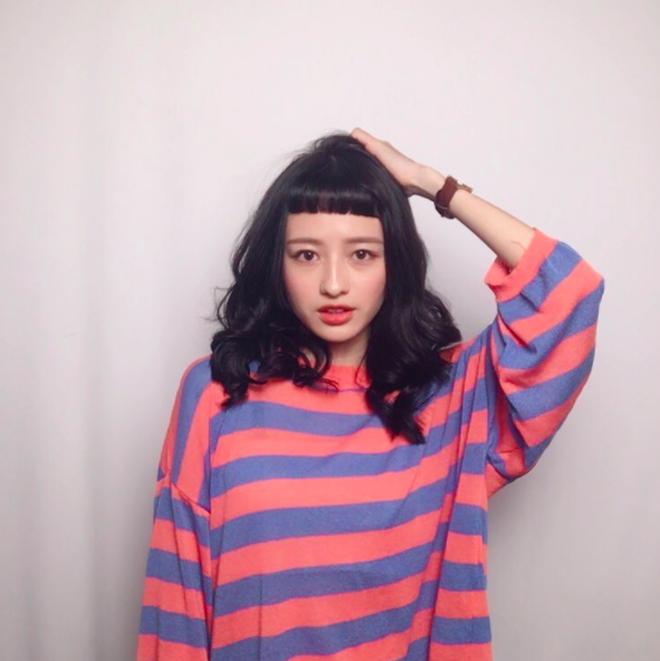 Cô bạn Đài Loan với tóc mái ngố giữa trán: Mặt đẹp thì chấp hết! - Ảnh 14.