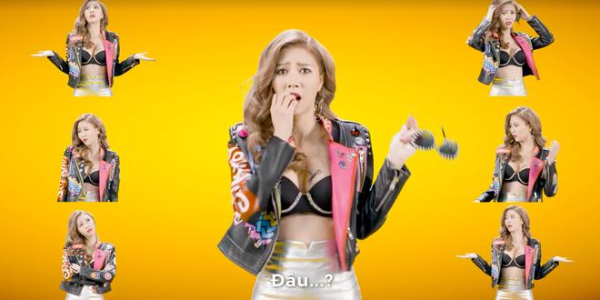 Vũ Ngọc Châm lộ vòng 1 trong clip quảng cáo - Ảnh 1.