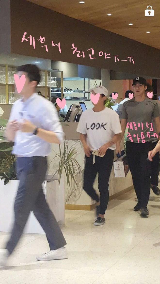 Minh chứng body siêu thực của các nam thần Kpop: Ảnh fan chụp vội chưa qua chỉnh sửa còn tôn dáng hơn! - Ảnh 13.