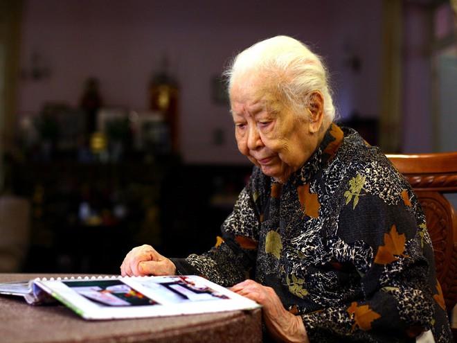 Cụ Hoàng Thị Minh Hồ hiến hơn 5.000 lượng vàng cho Nhà nước đã qua đời ở tuổi 104 - Ảnh 1.
