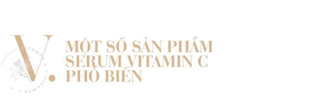 Serum Vitamin C - thần dược giúp da vừa trắng sáng vừa trẻ hóa, hết thâm nám và nhiều điều bạn chưa biết - Ảnh 12.