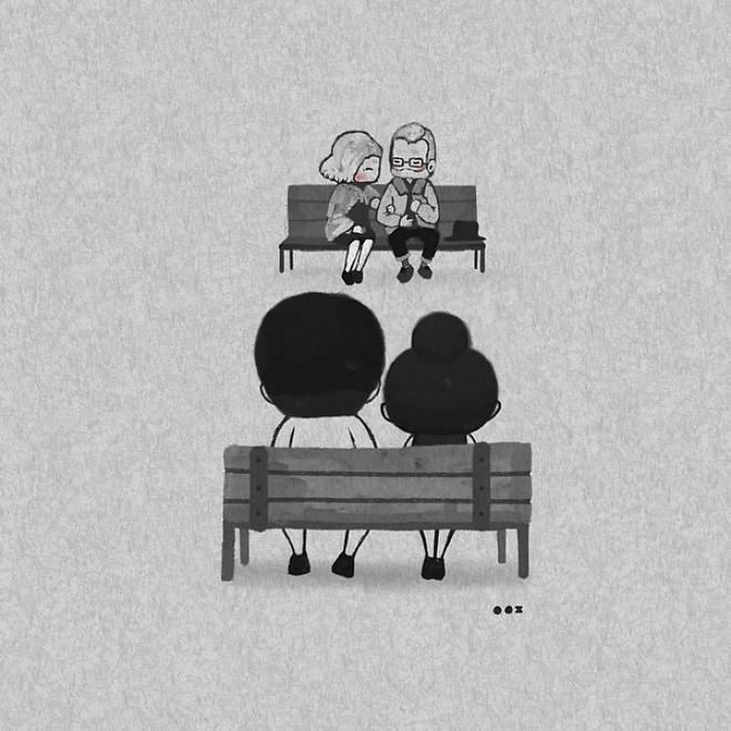 Bộ tranh: Yêu nhau giản đơn thế này thôi nhưng ai mà chẳng thích! - Ảnh 1.