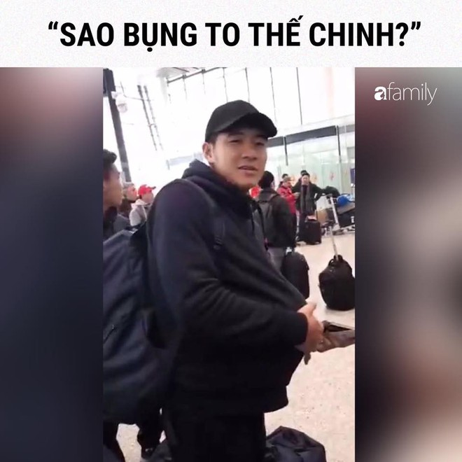 Lăn xả ngoài sân bóng là vậy thế nhưng ở đời thường, Đức Chinh lại khiến ai cũng bật cười vì độ nhí nhố vô đối của mình - Ảnh 10.