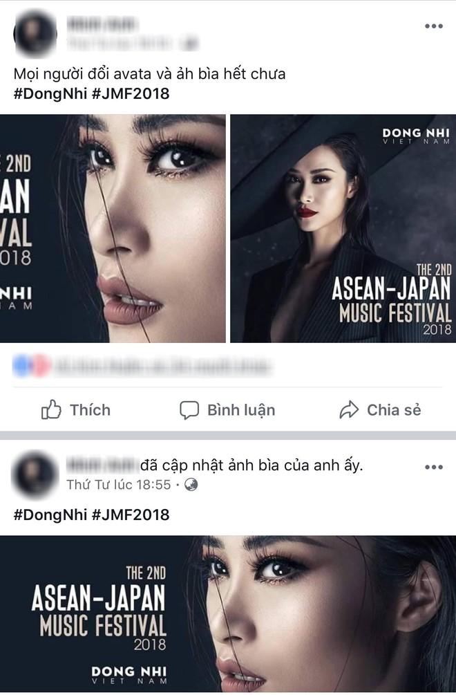 Đông Nhi tung thông điệp ẩn ý, fan đồng loạt thay avatar và cover facebook cổ vũ thần tượng trở lại 9