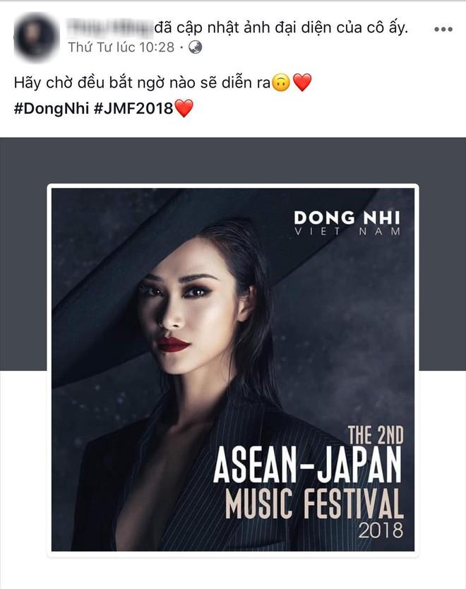 Đông Nhi tung thông điệp ẩn ý, fan đồng loạt thay avatar và cover facebook cổ vũ thần tượng trở lại 8