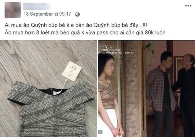 """Nhờ Quỳnh Búp Bê mà các shop online thi nhau đắt hàng mẫu áo """"hot hit"""" này 4"""