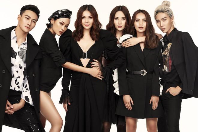 Thanh Hằng trình làng team đa màu sắc của The Face Vietnam 2018 với bộ hình đầy thần thái! - Ảnh 2.