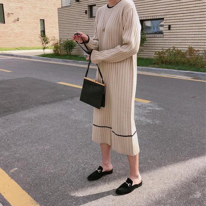 Giày khuyết gót - item dù mang đế bệt cũng kéo dài chân cực khéo, lại nữ tính và trang nhã vô cùng - Ảnh 4.