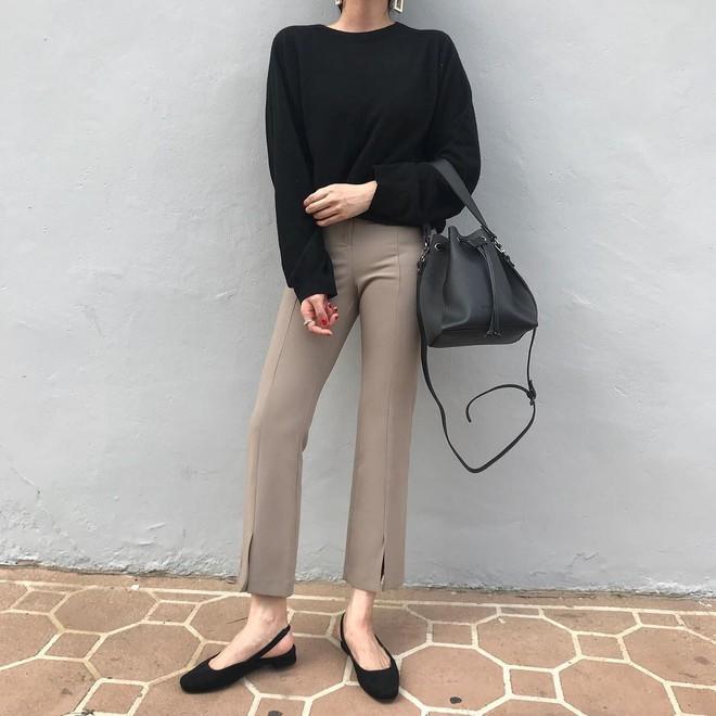 Giày khuyết gót - item dù mang đế bệt cũng kéo dài chân cực khéo, lại nữ tính và trang nhã vô cùng - Ảnh 6.
