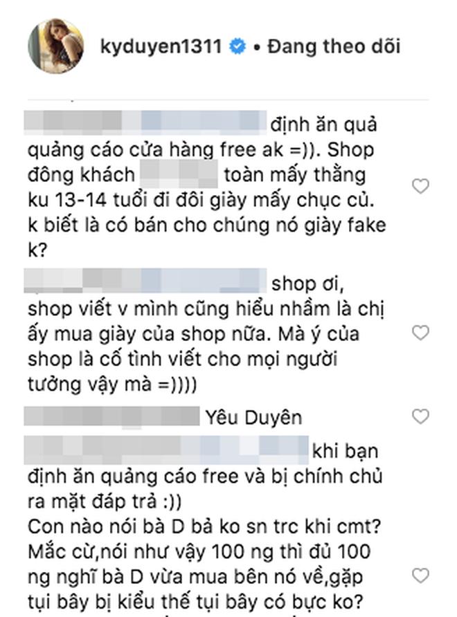 """Kỳ Duyên tiếp tục """"bàn phím chiến"""" trên instagram, lần này là đối phó với shop online bình luận quảng cáo gây hiểu lầm - Ảnh 7."""