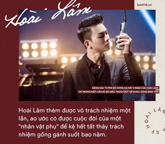 """Đằng sau tuyên bố dừng ca hát 2 năm của Hoài Lâm: Chỉ mong một lần rũ bỏ mác """"ngôi sao"""" để được sống bình yên - Ảnh 5."""