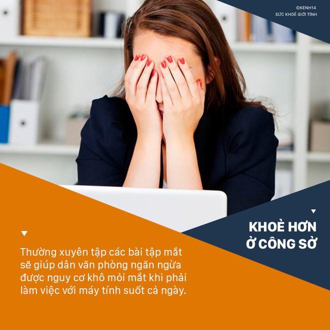 5 vấn đề sức khỏe mà dân văn phòng nào cũng có nguy cơ gặp phải khi ngồi làm việc với máy tính suốt ngày - Ảnh 9.