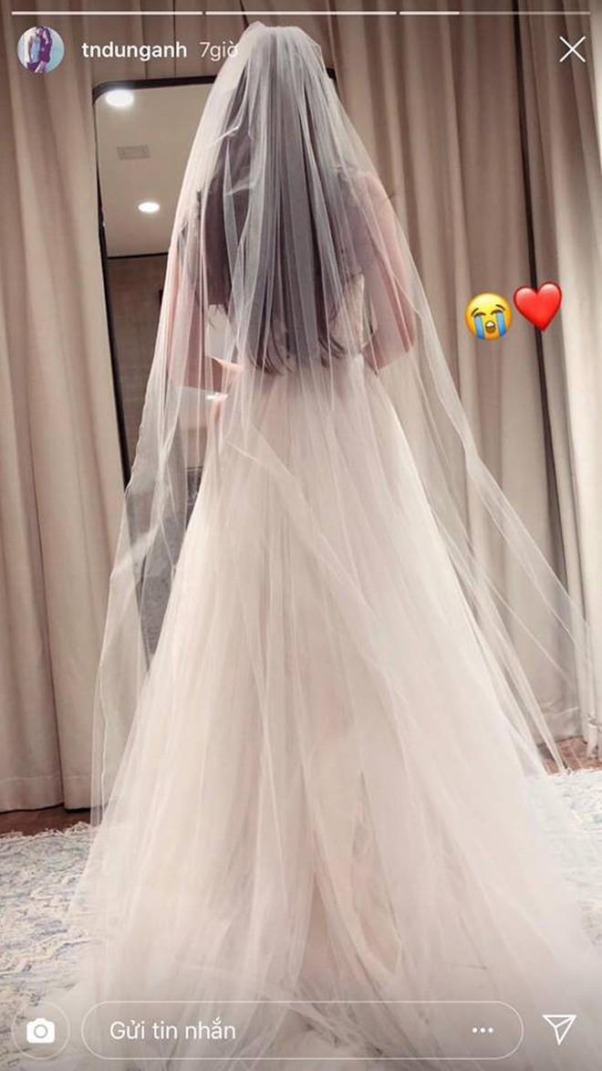 Mie Nguyễn khoe ảnh váy cưới lộng lẫy trên Instagram - ảnh 2