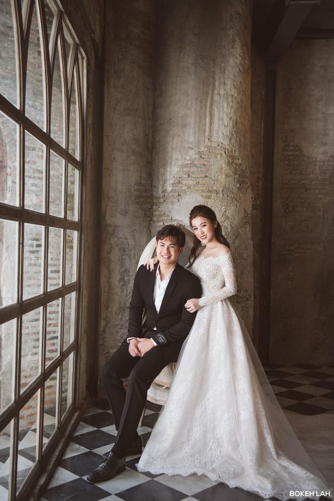 """Một gương mặt đình đám của """"hội con nhà giàu Việt"""" vừa hé lộ ảnh cưới đẹp như mơ ở Thái Lan - Ảnh 4."""
