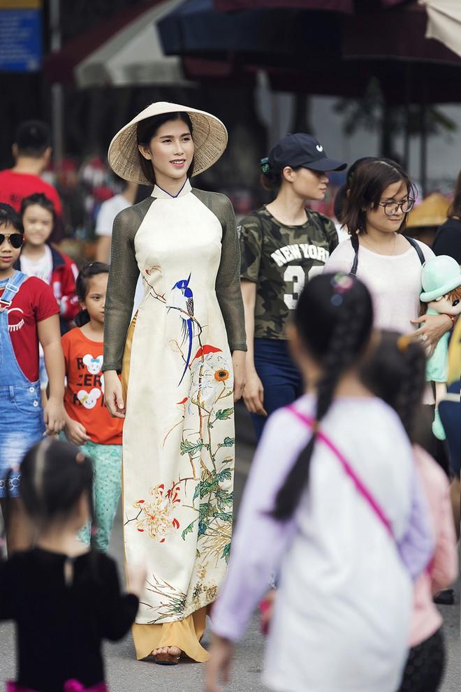 """Cô gái chuyển giới Ánh Phong trong bộ ảnh thướt tha với áo dài: """"Cảm ơn mọi người đã không từ bỏ mình"""""""