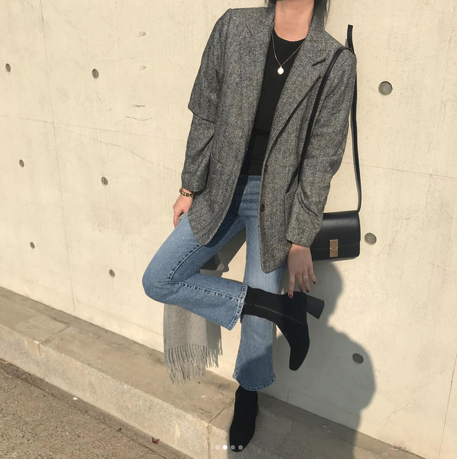 Áo blazer quần jeans: 3 tips để mặc Áo blazer + jeans thời trang hơn