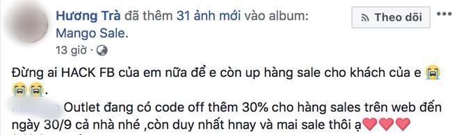Cảnh báo khẩn cấp: Liên tiếp Facebook của nhiều người nổi tiếng bị hack sau 1 đêm, phải bỏ hàng chục triệu đồng để chuộc lại - Ảnh 3.
