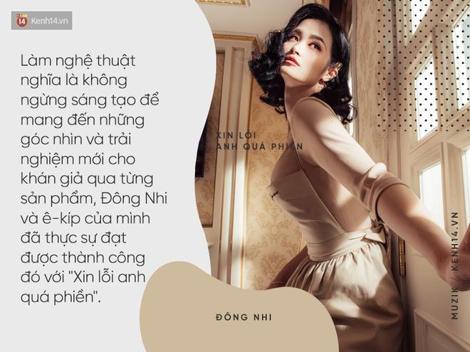 Đông Nhi và MV Xin lỗi anh quá phiền: Phát súng mang thông điệp nữ quyền ấn tượng mở màn cho album 10 năm - Ảnh 5.