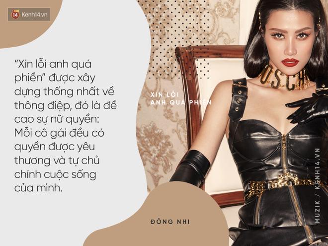 Đông Nhi và MV Xin lỗi anh quá phiền: Phát súng mang thông điệp nữ quyền ấn tượng mở màn cho album 10 năm - Ảnh 6.