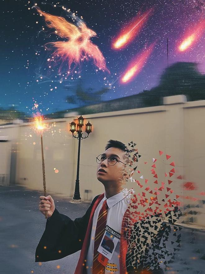 Sao Việt nhập cuộc Halloween: Từ Harry Potter đến dị nhân da xanh Mystique hóa trang giống đến ngỡ ngàng - Ảnh 7.