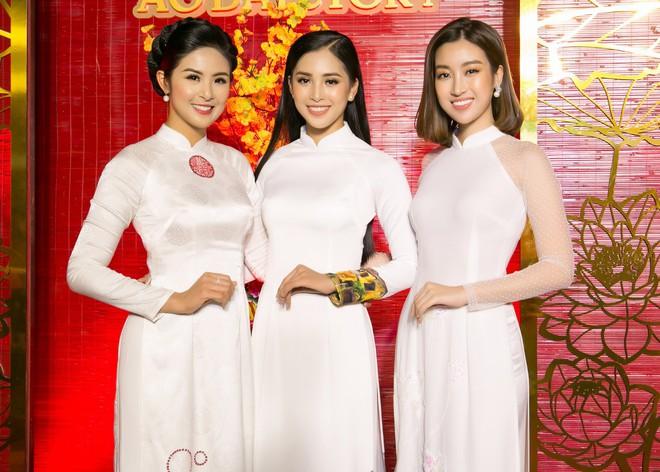 Bộ đôi Hoa hậu Tiểu Vy - Mỹ Linh lần đầu đọ sắc một chín một mười tại sự kiện - Ảnh 5.