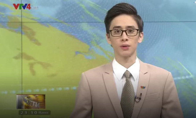 MC VTV người Nga Daniel Shulyndin đẹp như nam thần bất ngờ về nước - ảnh