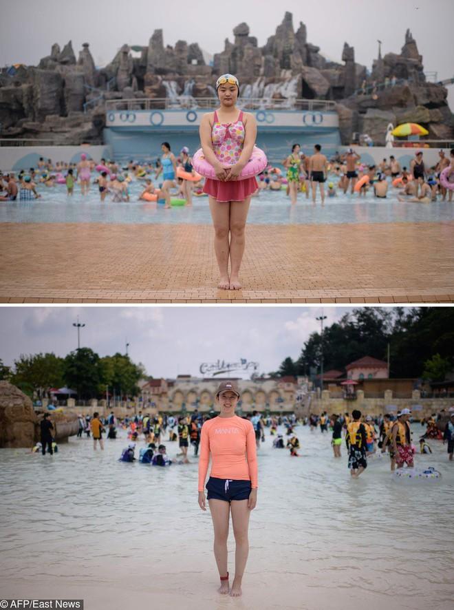Cùng 1 kiểu ảnh, nhiếp ảnh gia này quyết định đến chụp ở cả Triều Tiên lẫn Hàn Quốc - kết quả thật đáng kinh ngạc - Ảnh 3.