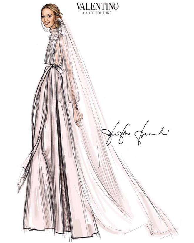 """Chẳng đầm xòe lồng lộn, ái nữ thừa kế của """"ông trùm"""" Zara vừa lên xe hoa trong bộ váy cưới đơn giản khác biệt nhất bạn từng thấy - Ảnh 2."""