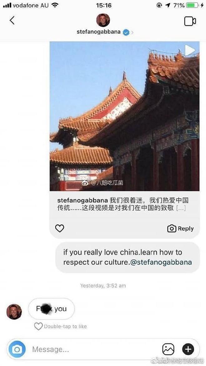 """Dolce & Gabbana dính """"phốt"""" kỳ thị người Trung Quốc, Địch Lệ Nhiệt Ba cùng loạt sao Hoa tuyên bố không tham dự show diễn của hãng - Ảnh 4."""